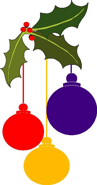 svg Christmas Ornaments Corner Clip Art at Clker