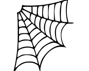 graphic transparent Free download best on. Corner spider web clipart