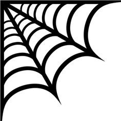 vector royalty free Corner spider web clipart. Template google search icing