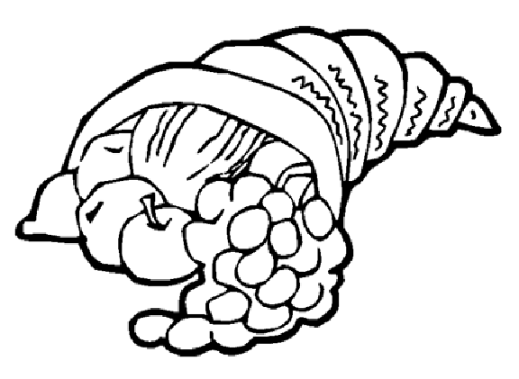 clip library library Cornucopia black and white clipart. Drawing at getdrawings com