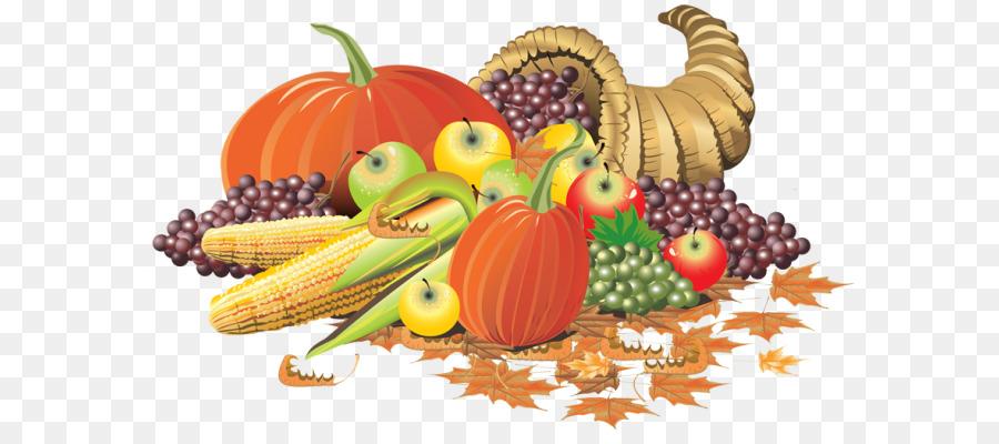 clip art transparent Thanksgiving illustration . Cornucopia clipart