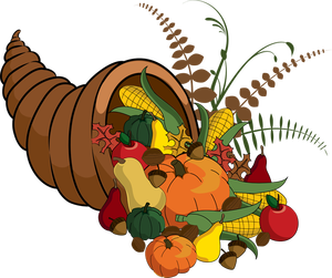 vector transparent download  thanksgiving clip art. Cornucopia clipart
