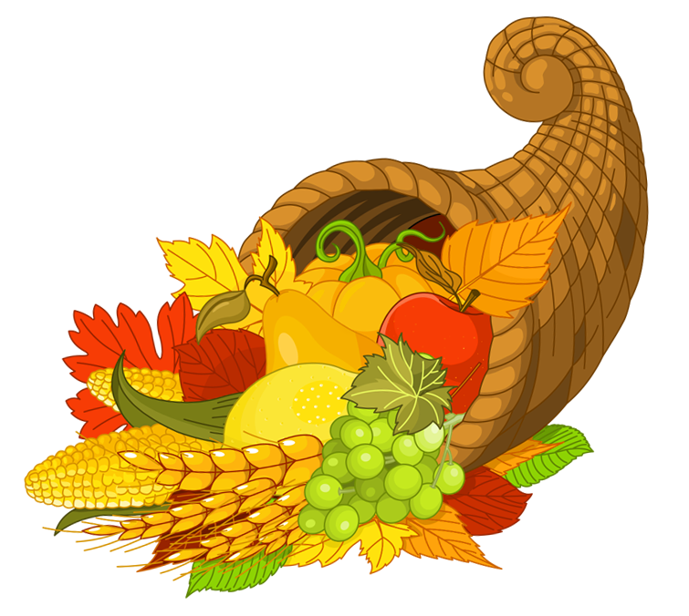 clip art freeuse download Cornucopia clipart.  collection of thanksgiving