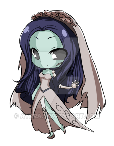 banner royalty free stock Emily the Corpse Bride by ayrra on DeviantArt