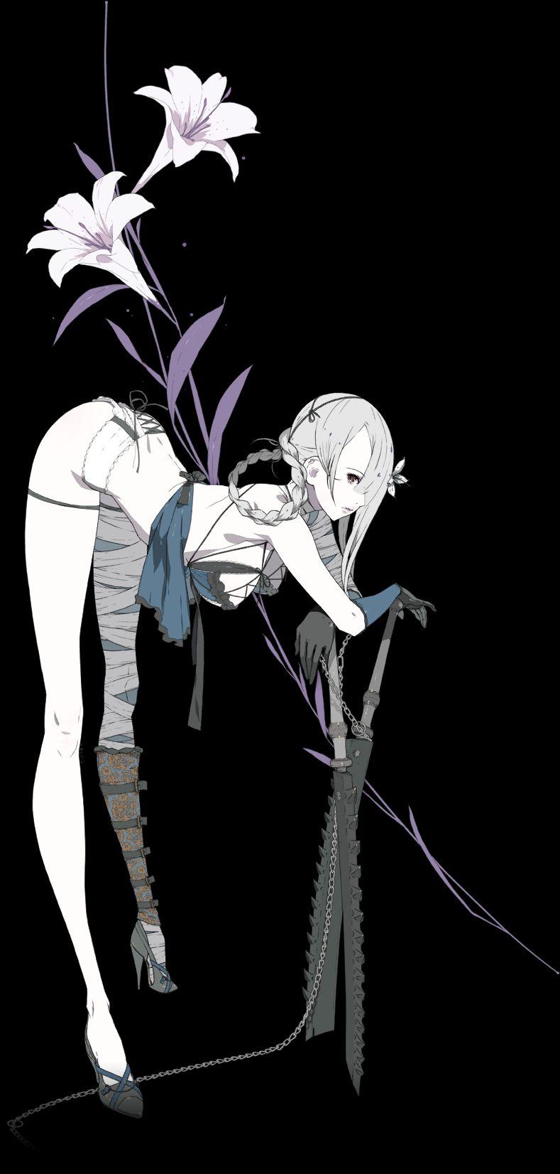 clip royalty free library Kain nier wiki fandom. Bandage drawing fantasy