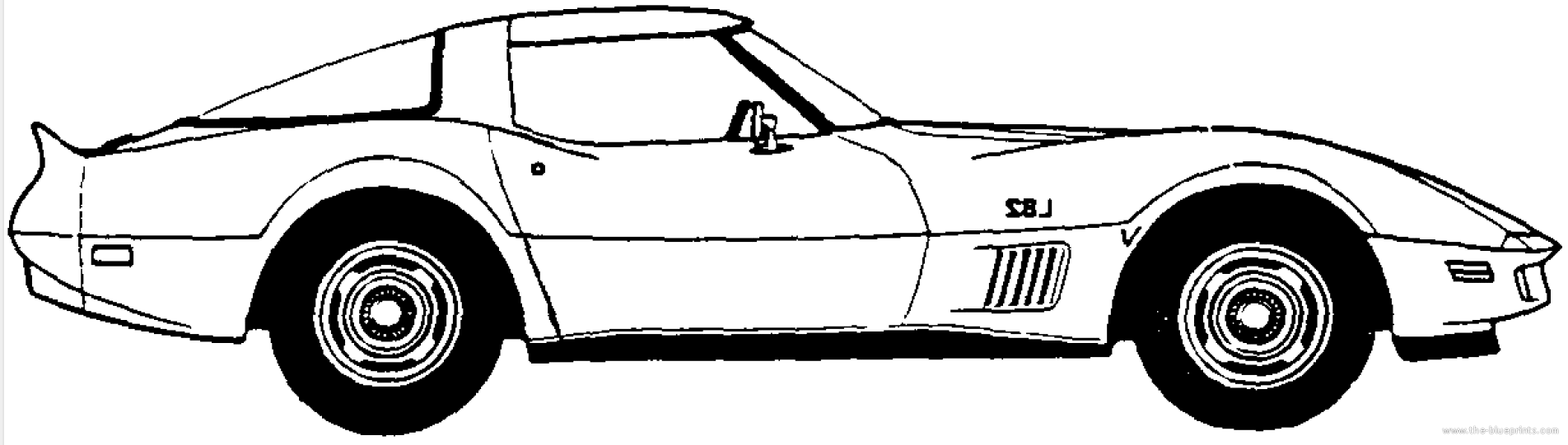 banner black and white stock Free cliparts download clip. Corvette stingray clipart.