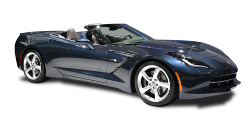 image free Corvette stingray clipart. Chevrolet convertible car png.