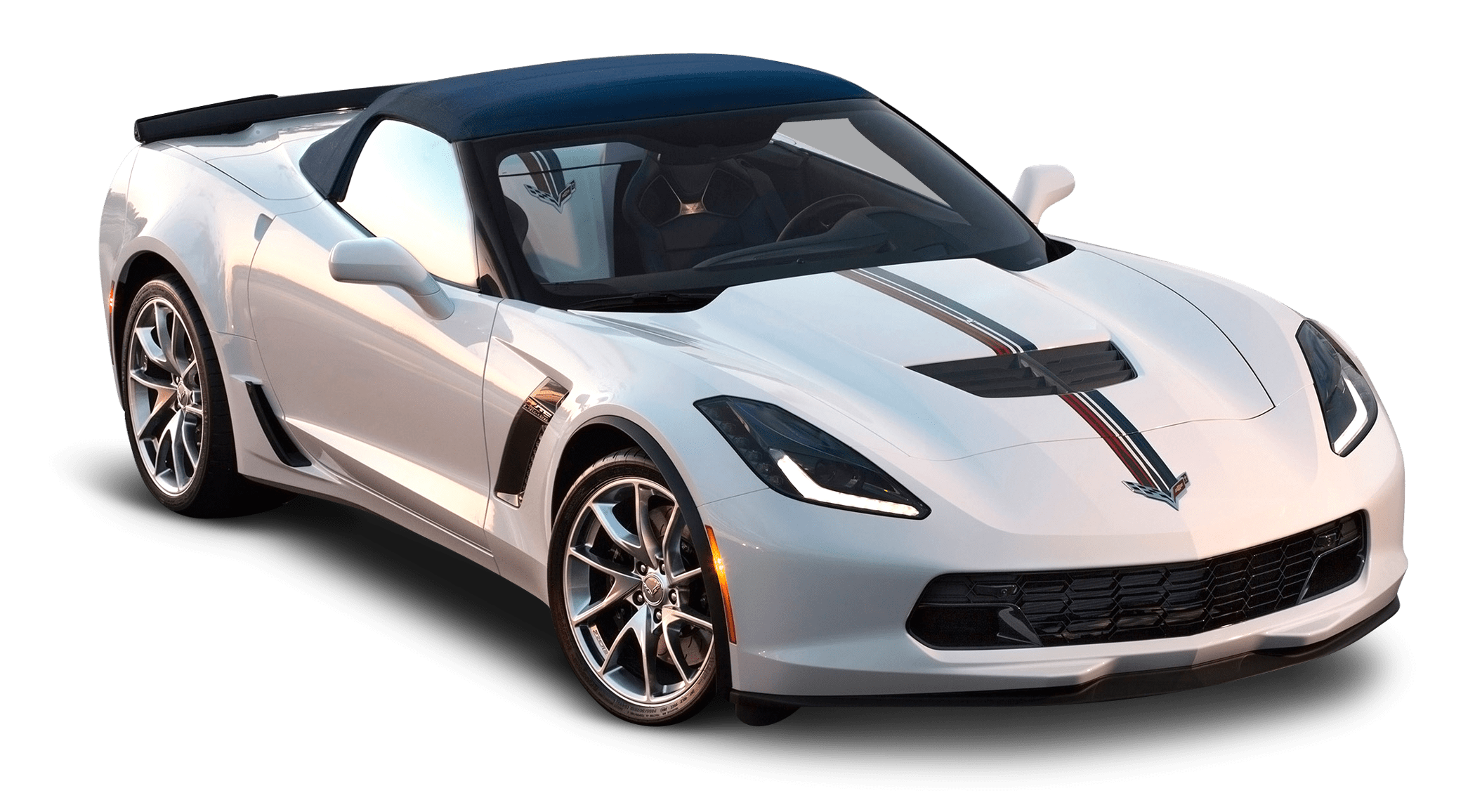 svg library download White transparent png stickpng. Corvette stingray clipart.