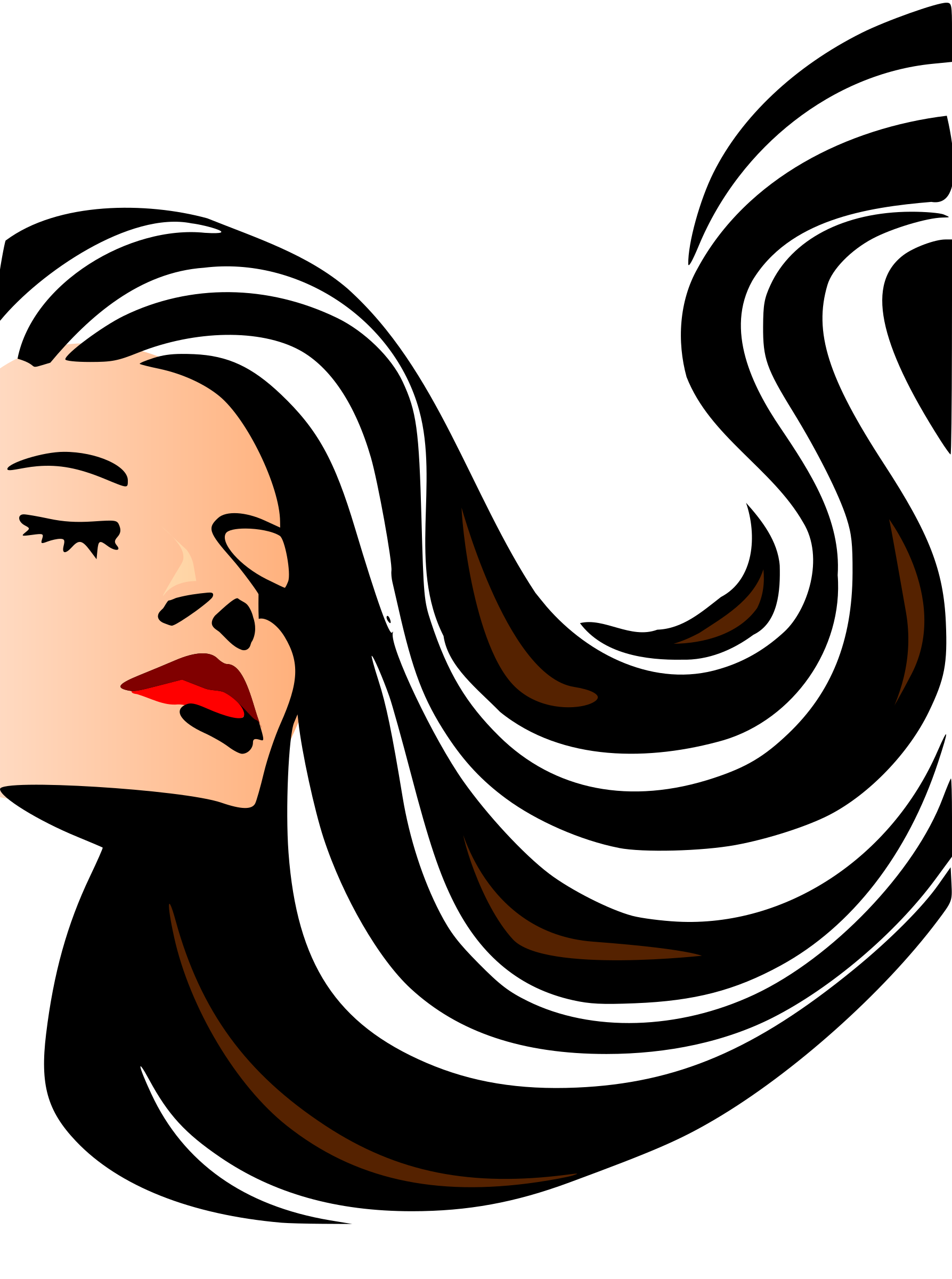 jpg free stock Woman big image png. Cosmetology clipart