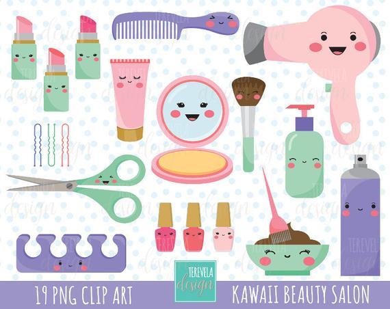 png royalty free stock  sale kawaii salon. Cosmetology clipart hair studio