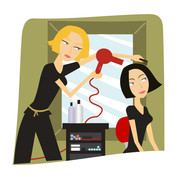 clip art library download Hairdresser clipart animated. Community theme workers and
