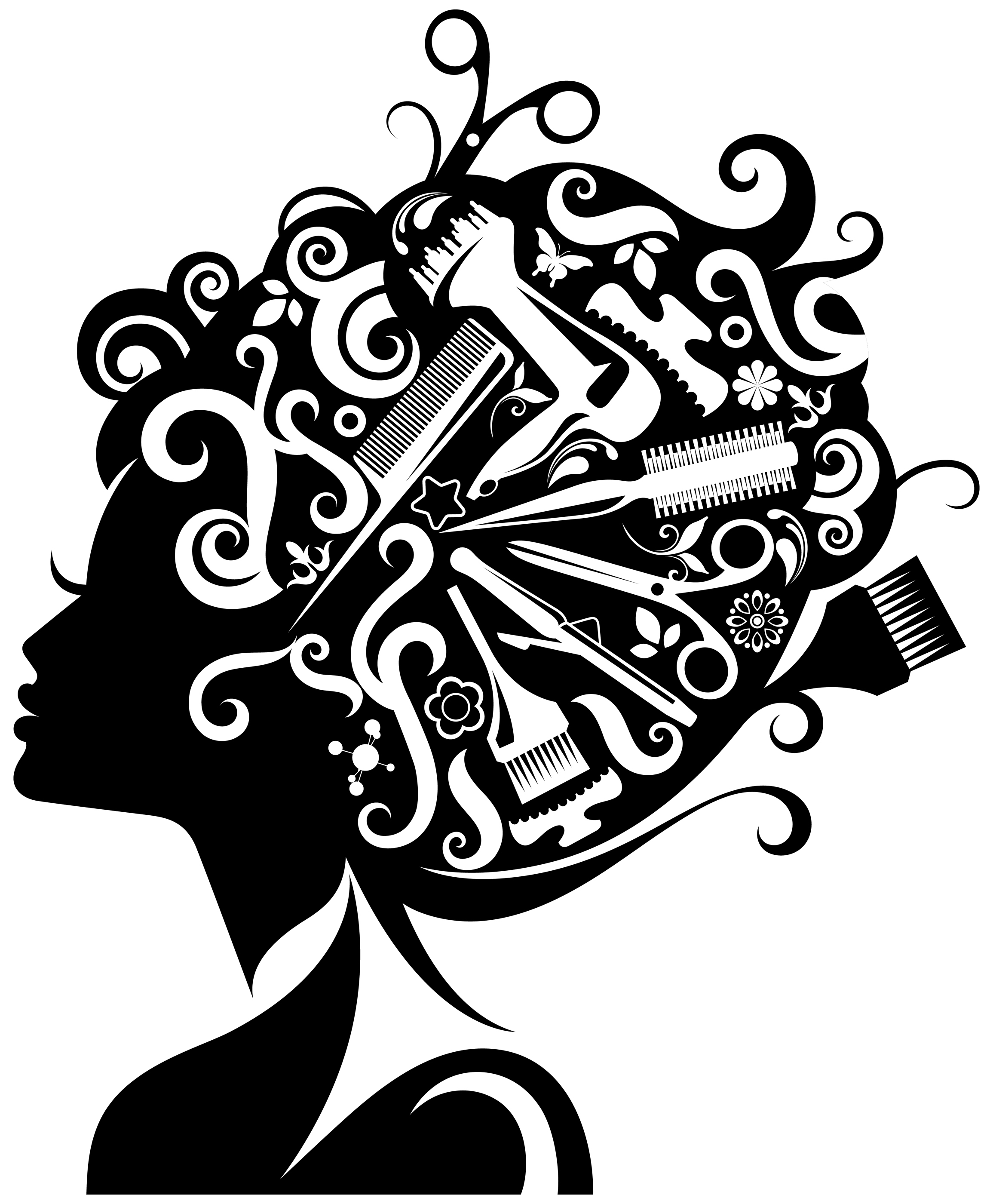 image royalty free library Free cosmetologist cliparts download. Cosmetology clipart