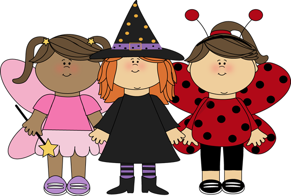 graphic transparent library  collection of kids. Costume clipart.
