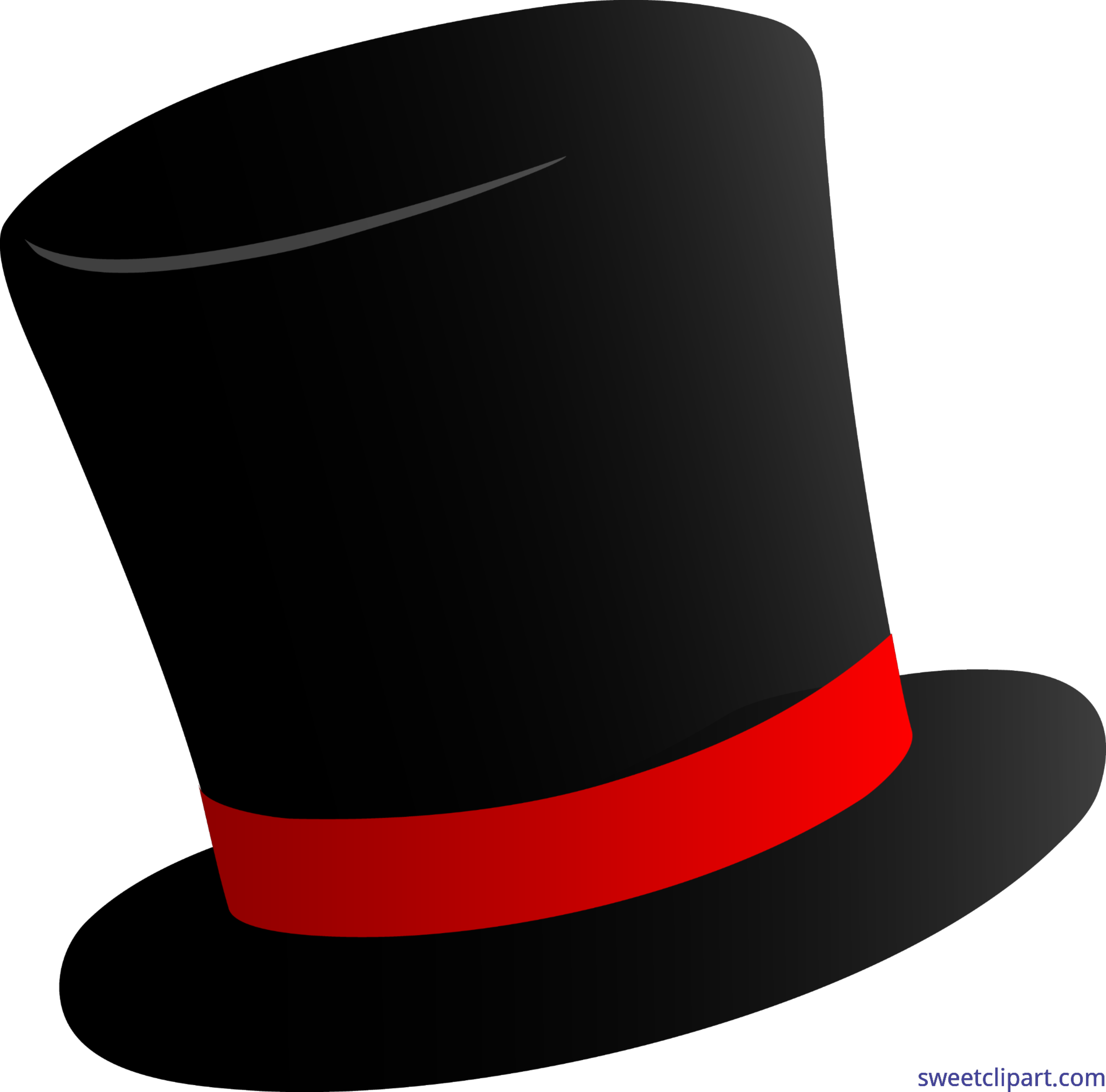 png download Black Top Hat Clip Art