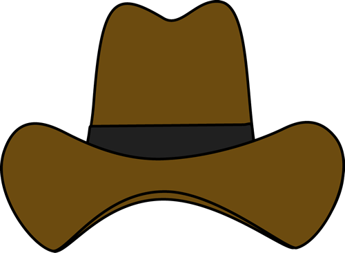 picture transparent library Simple Cowboy Hat Clip Art