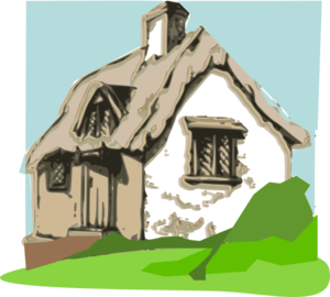 clip freeuse Cottage clipart. Clip art at clker.