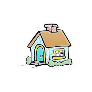 vector download Free cliparts download clip. Yard clipart cute cottage