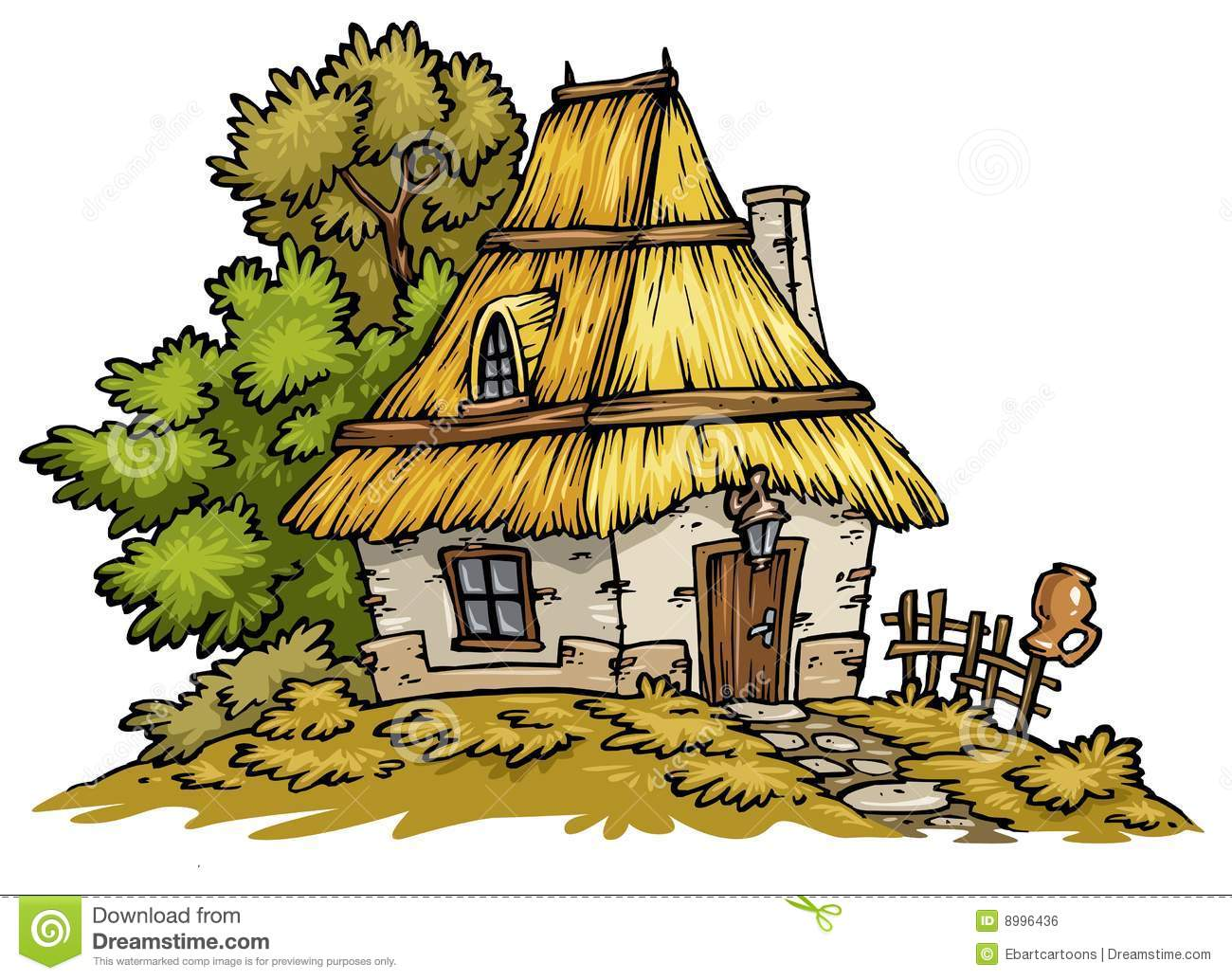 graphic free stock Station . Cottage clipart.
