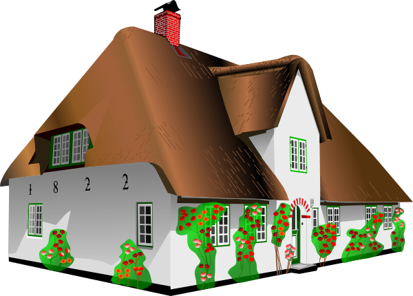 picture royalty free library Cottage clipart. House clip art at.
