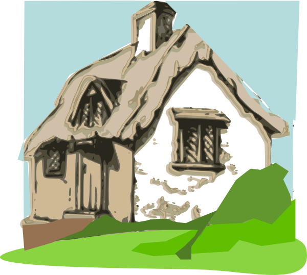 png transparent Clip art at clker. Hut clipart beach cottage.