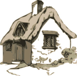 image royalty free library Cottage Clip Art at Clker