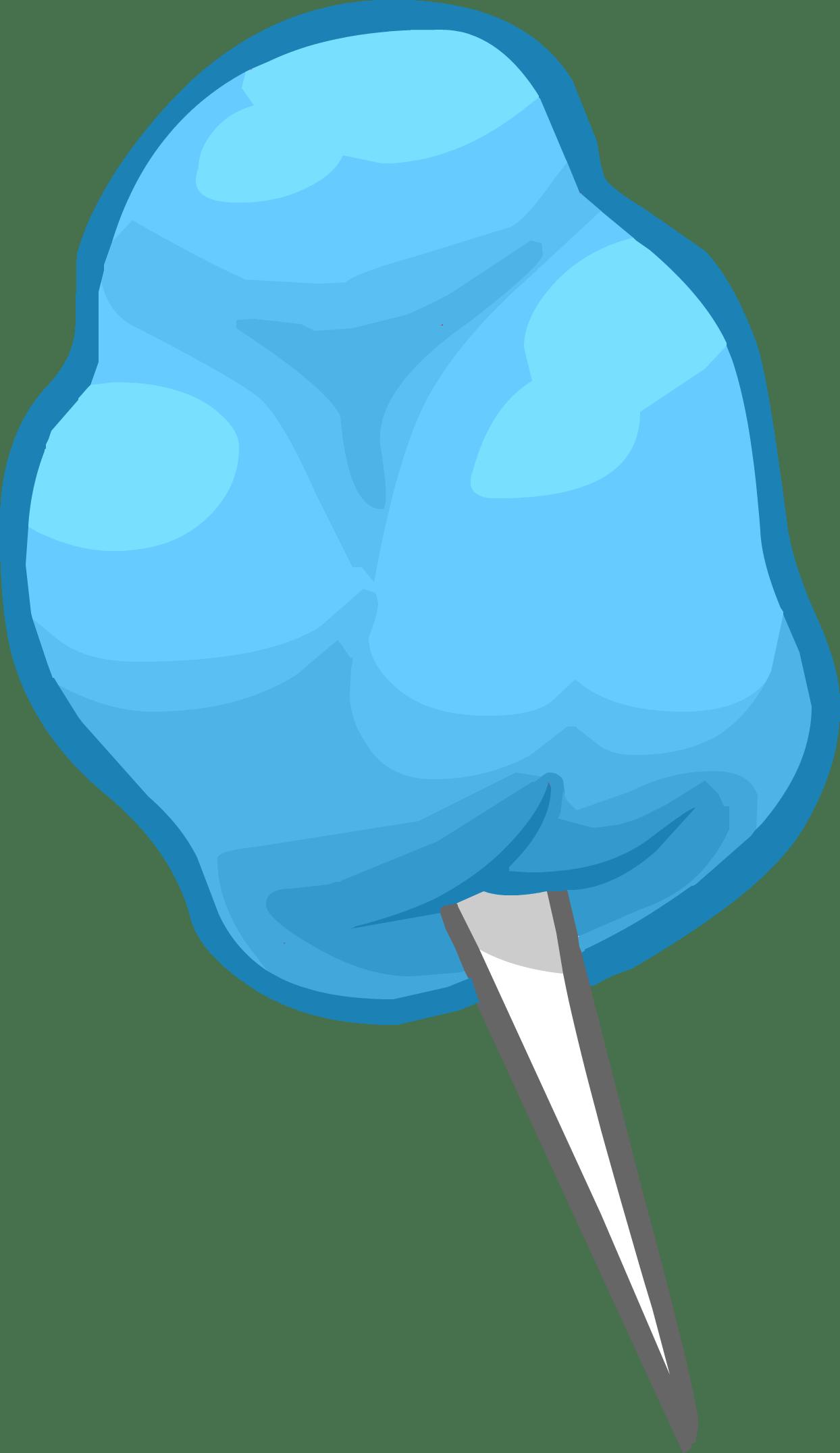 picture Cotton clipart. Blue candy transparent png