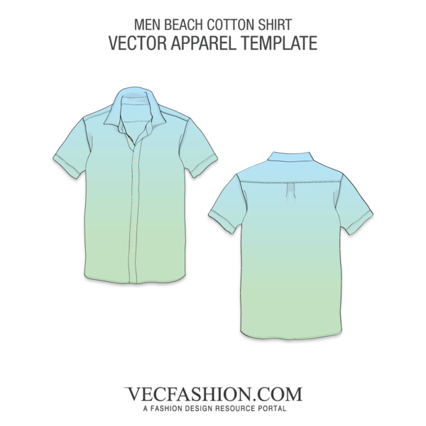 png freeuse stock Half Sleeved Cotton Shirt Template