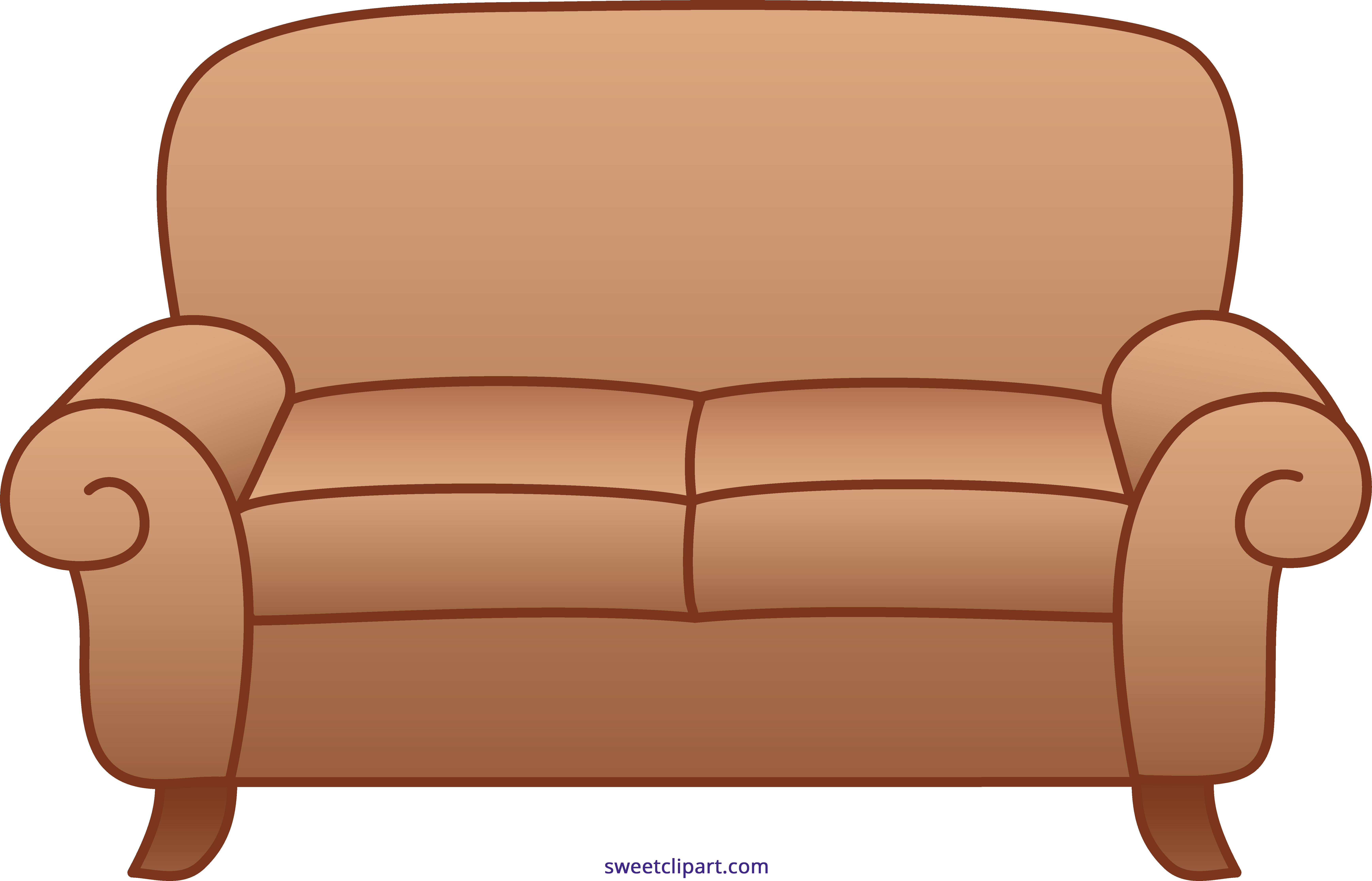 free Sofa cute free on. Couch clipart