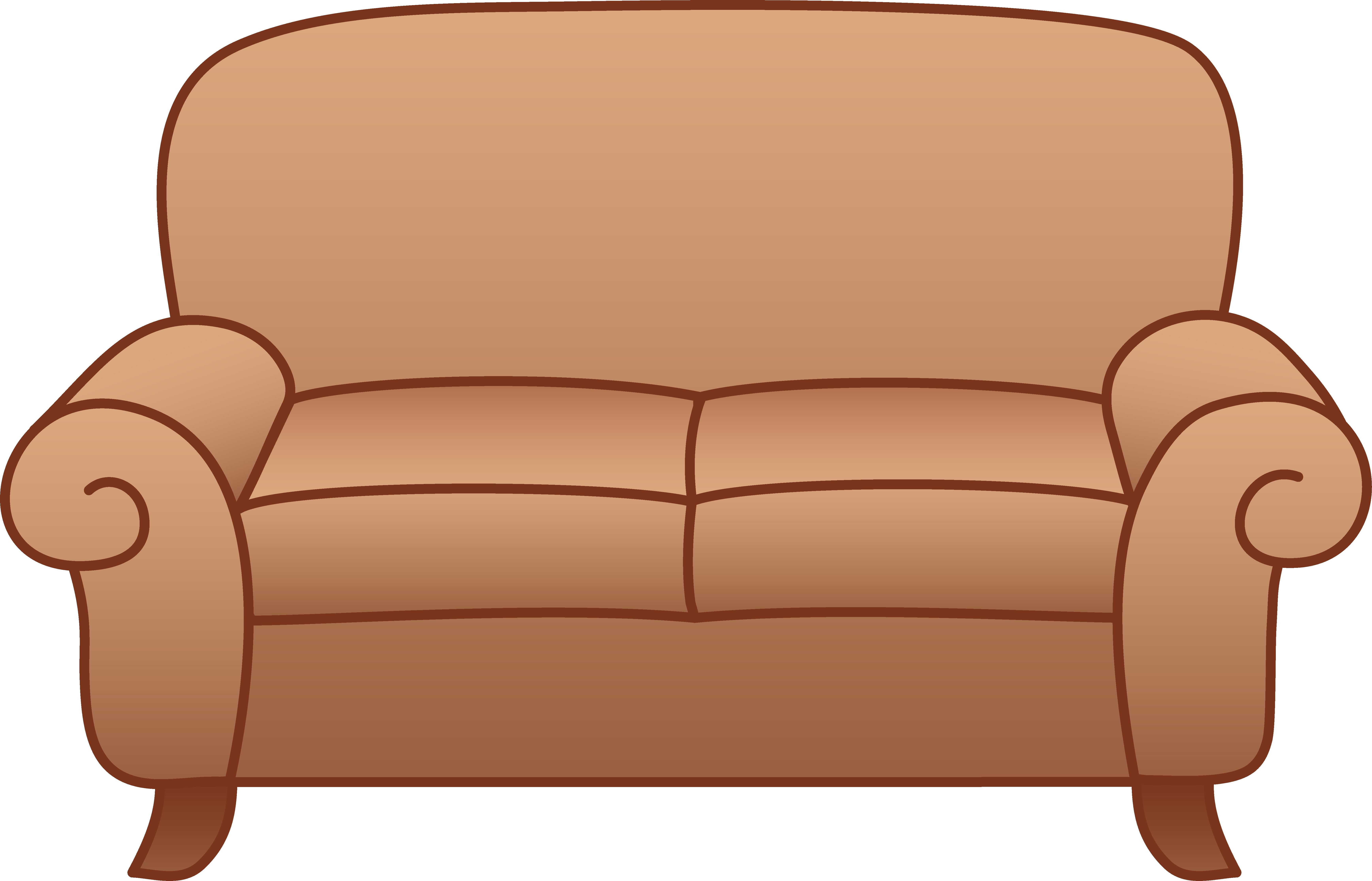 clip art transparent library sofa clipart printable #49374791