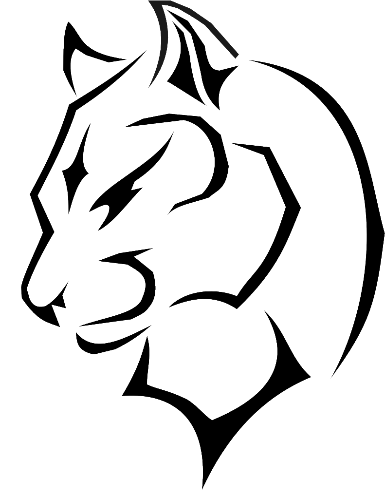 clipart royalty free library Black panther Cougar Drawing Clip art