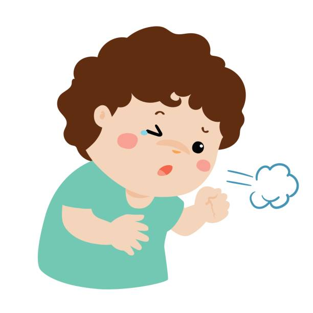 jpg free library Cough clipart sick boy. Transparent free for