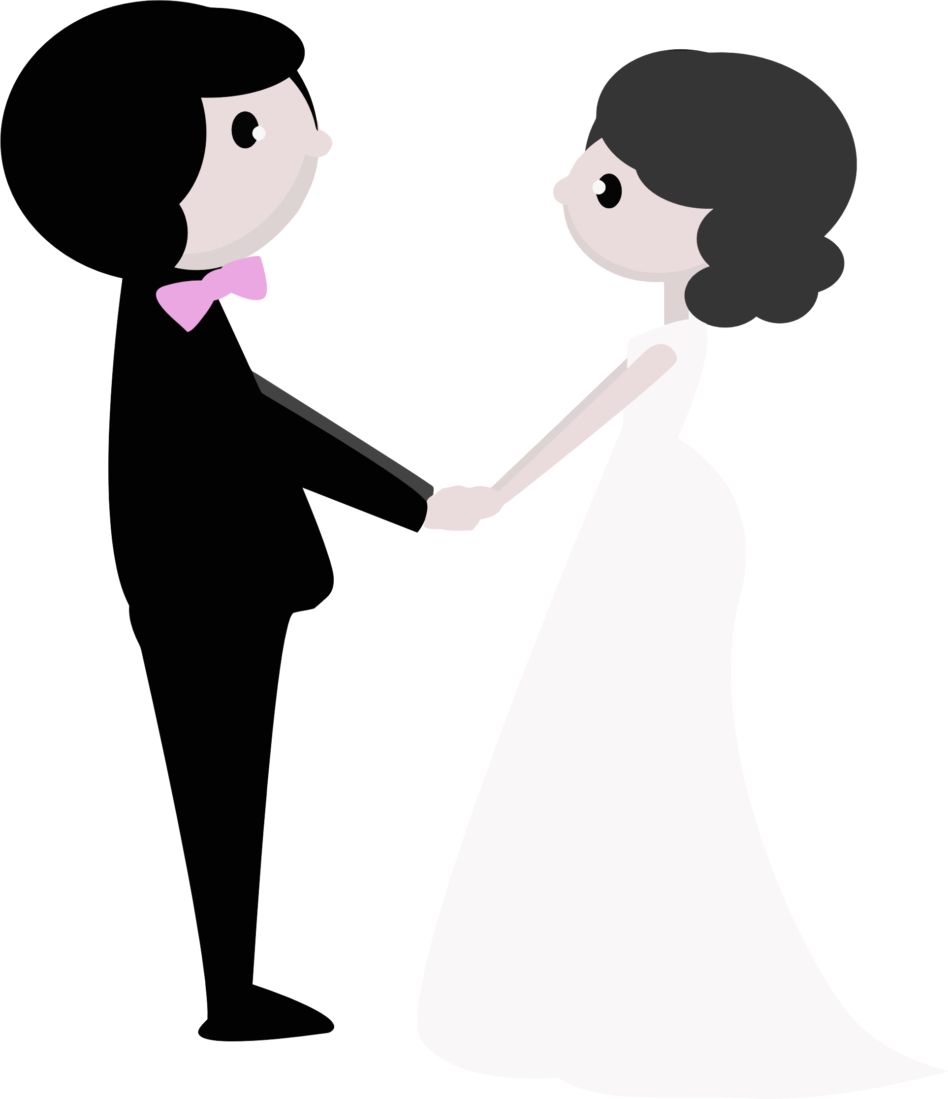 clip art library download Couple clipart. Wedding day free on.