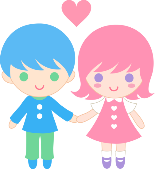 svg Cute . Couple clipart.