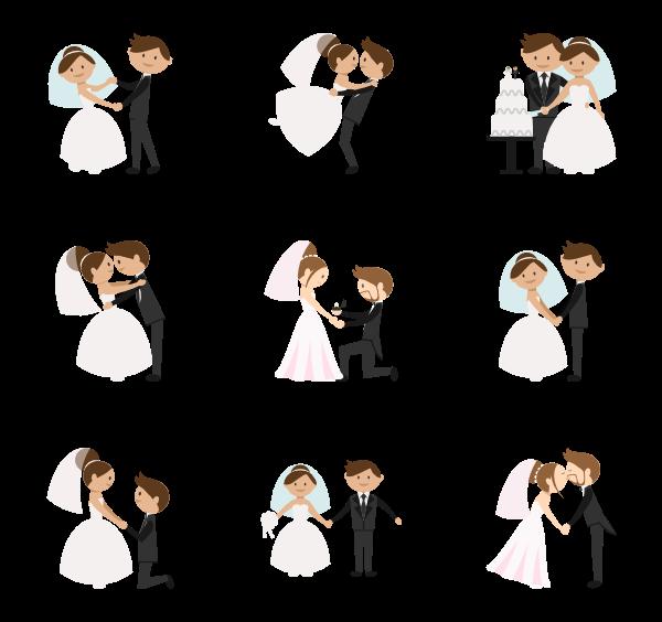 jpg freeuse stock Wedding couple Icons