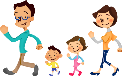 image library download Family free illustrations illustorium. Couple walking clipart.