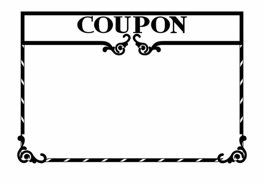 image royalty free Clip art free png. Coupon clipart
