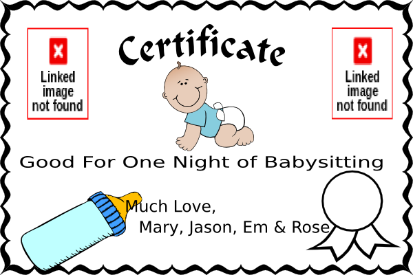 image transparent download Babysitting clip art at. Coupon clipart