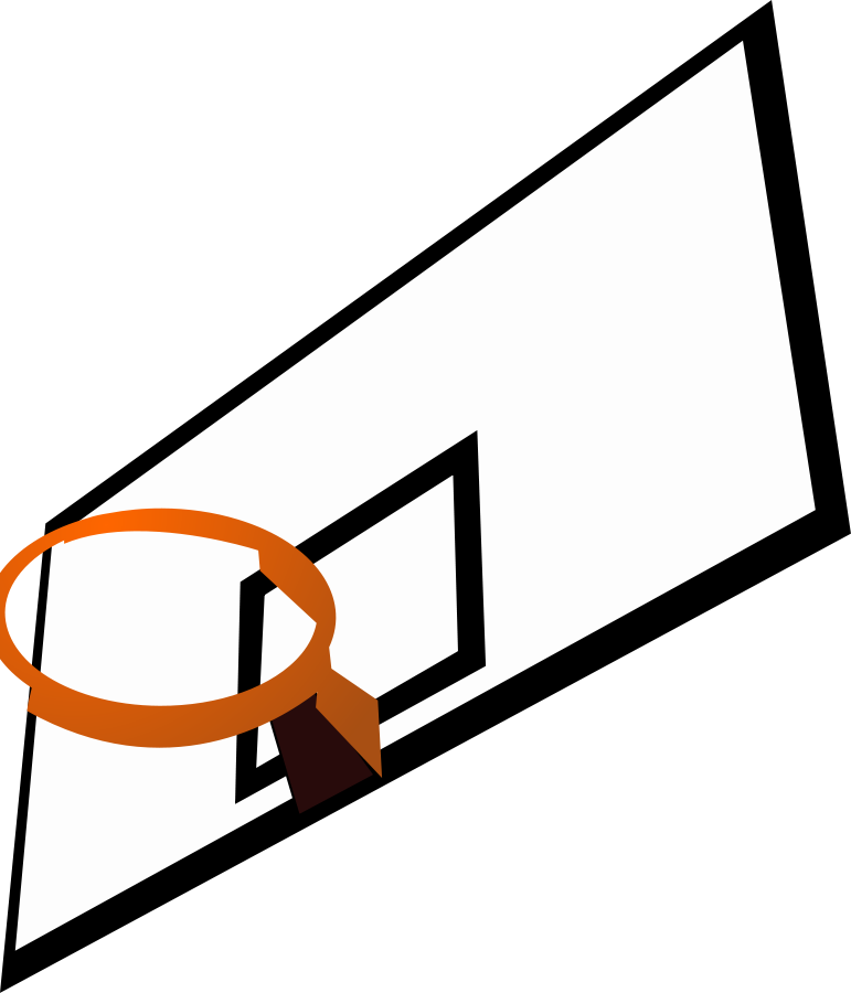 vector freeuse download Basketball panda free images. Court clipart