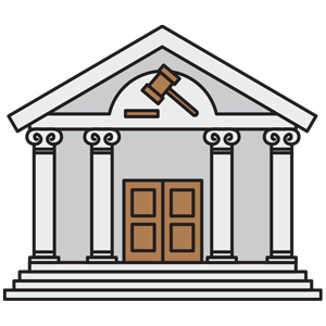 picture freeuse stock Cilpart enjoyable buildings places. Courthouse clipart
