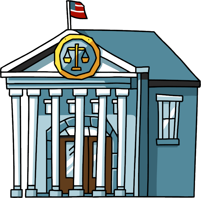 graphic library library Png hd transparent images. Courthouse clipart