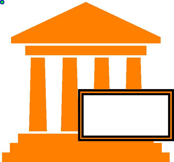 picture transparent stock Hot orange clip art. Courthouse clipart cartoon