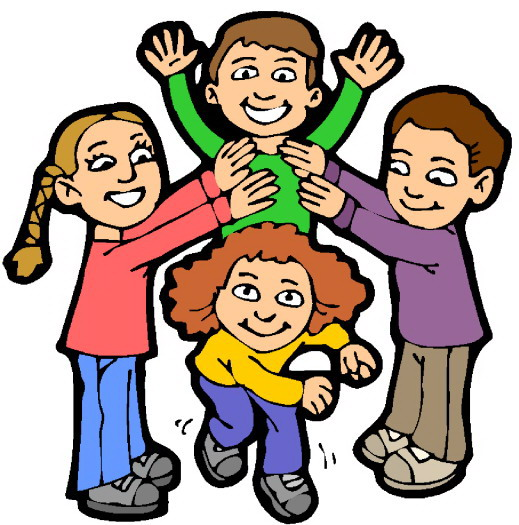 clipart freeuse stock Kids at play clipart. Free cousins cliparts download