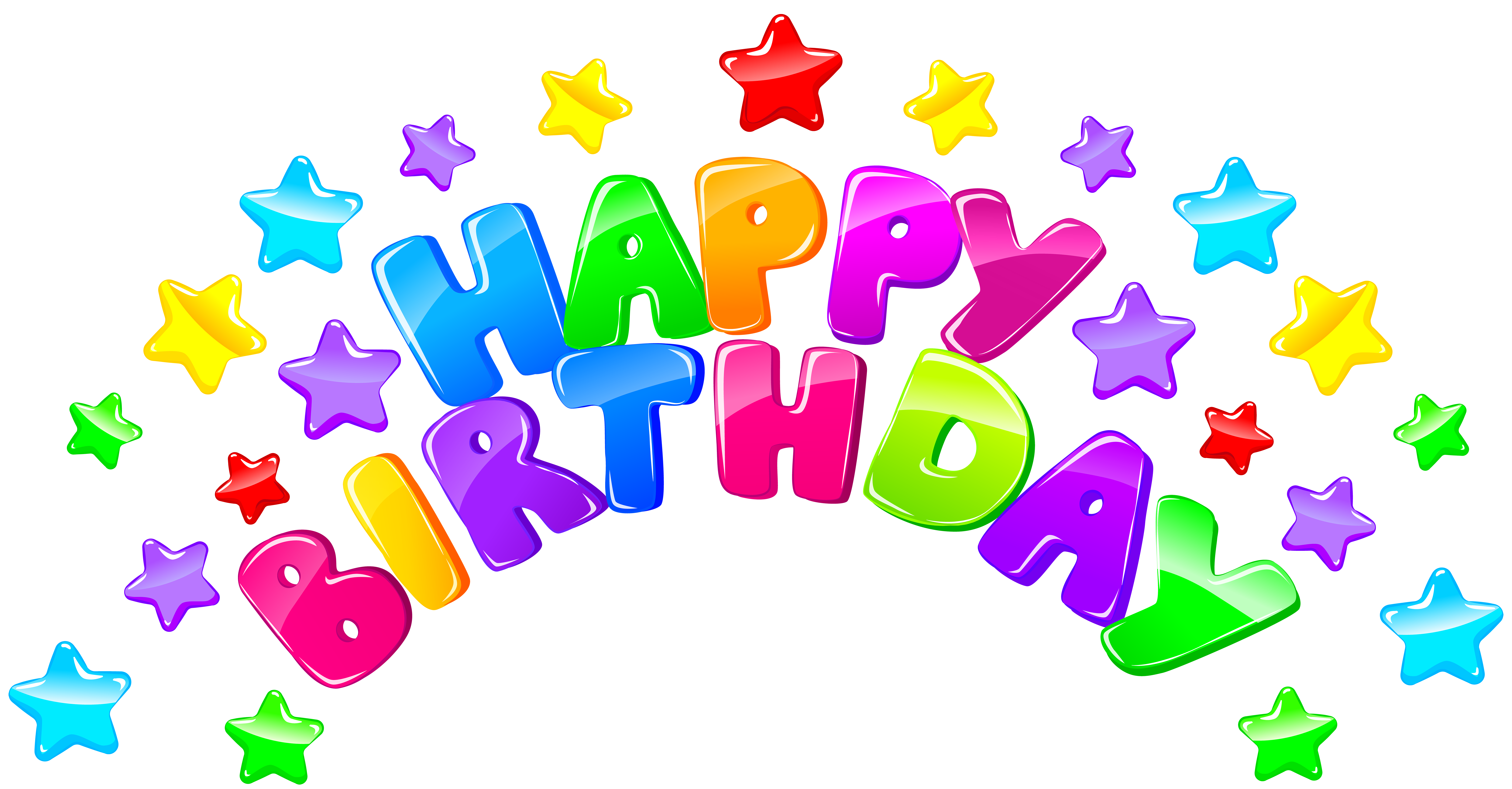 jpg transparent Decor with stars png. Happy birthday sister clipart