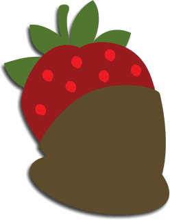 clip library library Covered clipart covered strawberry. Free svg file chocolate