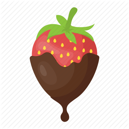 free stock Food and drinks by. Covered clipart covered strawberry