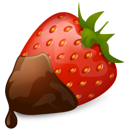 svg free library About the teacher powered. Covered clipart covered strawberry