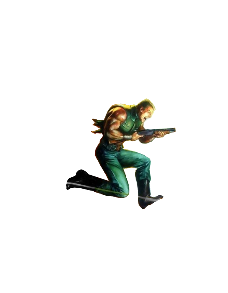 library Doom transparent clip art. Guy render by trymorx