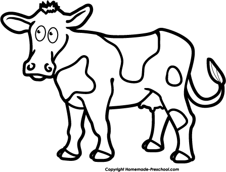 clip art royalty free stock Free pictures download clip. Cow clipart black and white