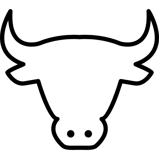 clip black and white PNG Cow Head Transparent Cow Head