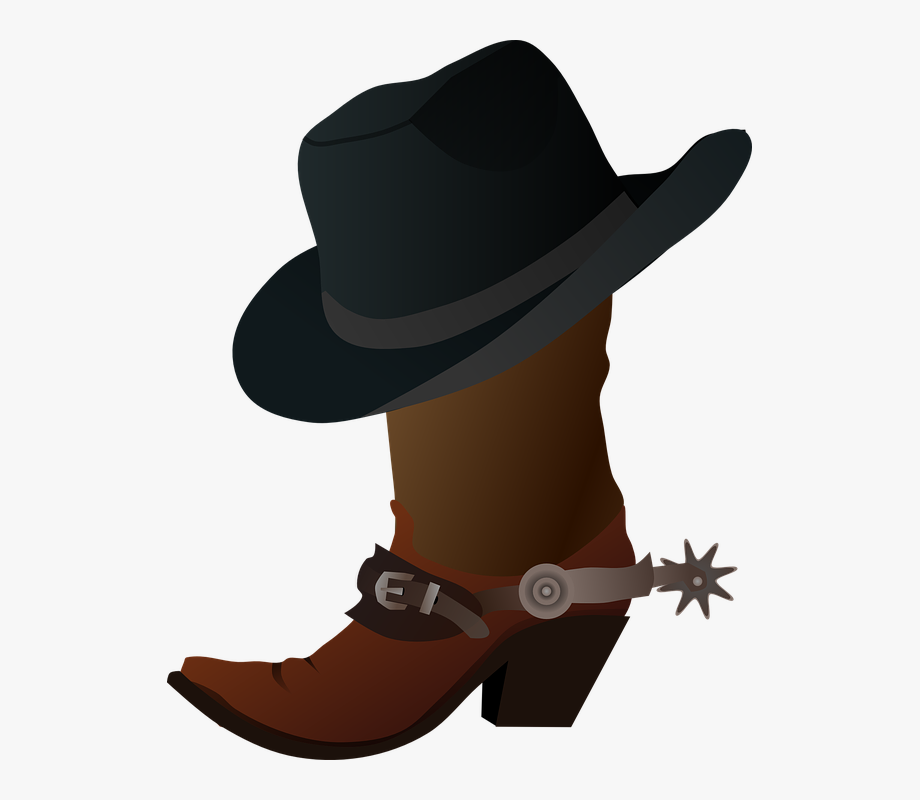 banner library Cowboy images clip art. Western hat clipart